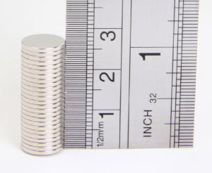 Rare Earth Magnets (10mm x 1mm) (x1)
