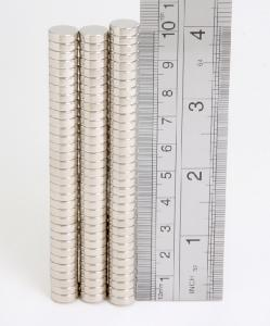 Rare Earth Magnets (10mm x 3mm) (x1)