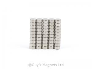 4mm x 2mm N52 High Grade Neodymium Magnet (x1)