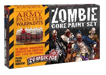 Zombicide: Army Painter - Zombie Core Paint Set