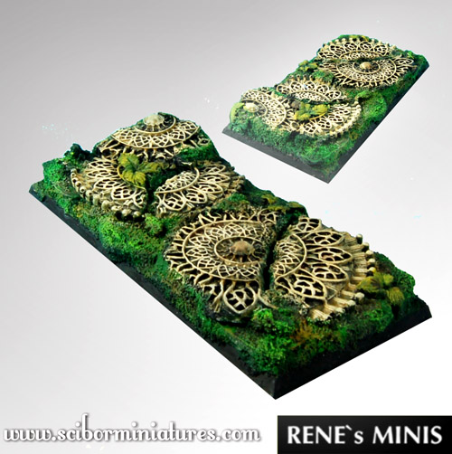 Elven Temple RuinsSquare Bases 95mm /45mm