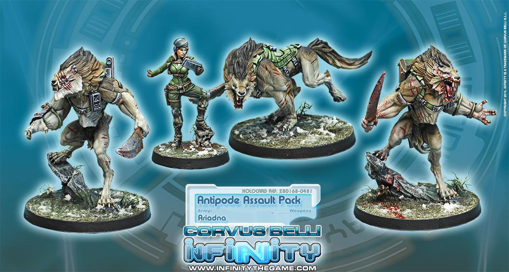 Antipode Assault Pack (Box of 4)