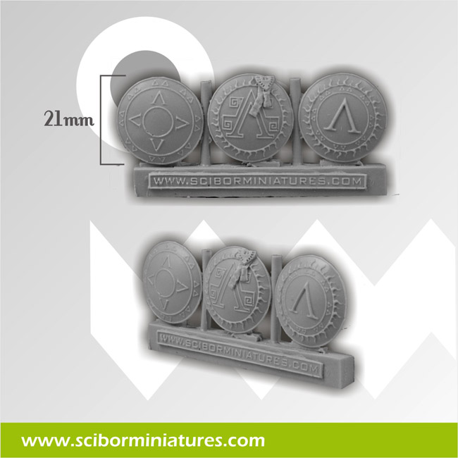 Big Spartans Shields (3)