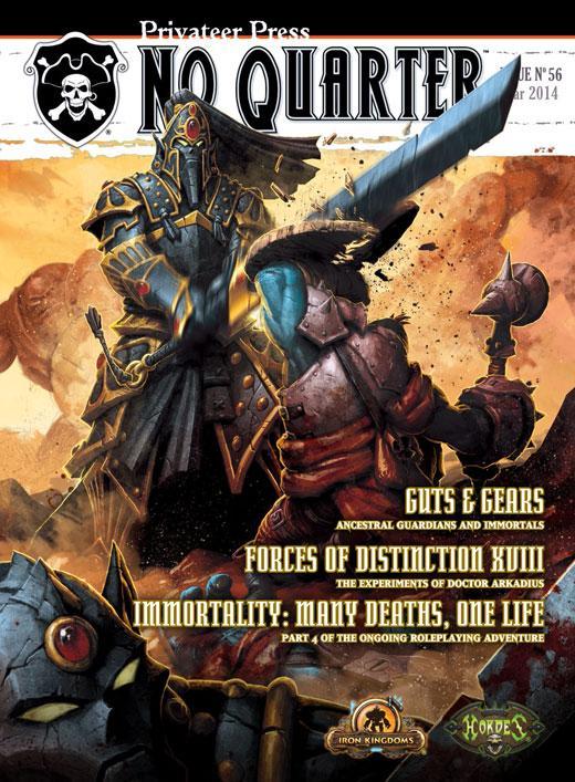 No Quarter Magazine: Issue Number 56