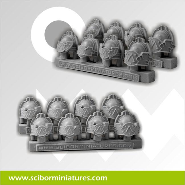 Spartans Shoulder Pads (8)