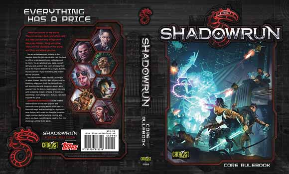 Shadowrun RPG 5th Edition (Hardcover)
