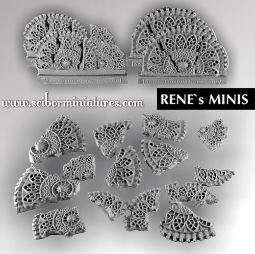 Basing Kit Elven Temple set1 (10)