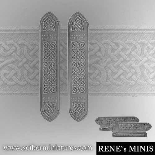 Celtic Decorated Plates #4 (2)