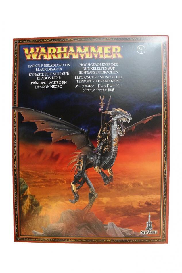 Sorceress on Black Dragon / Dreadlord On Black Dragon