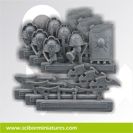 SF Roman Weapons set