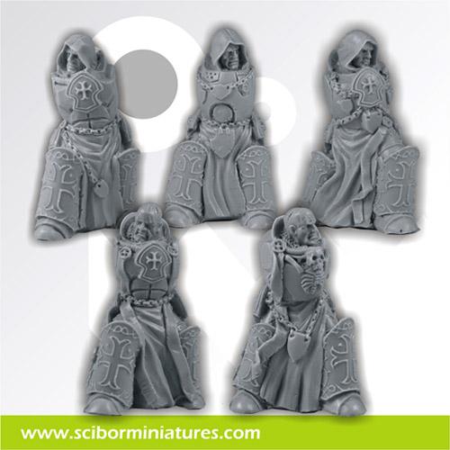 SF Templar Knights Bodys Set (5)