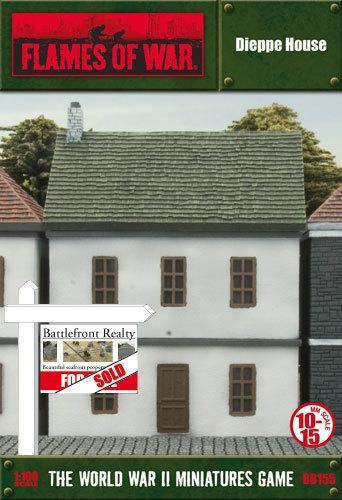 Terraced House -Dieppe