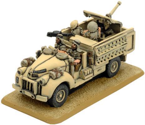 LRDG Chev Gun Truck, 1pc Resin, LRDG Patrol