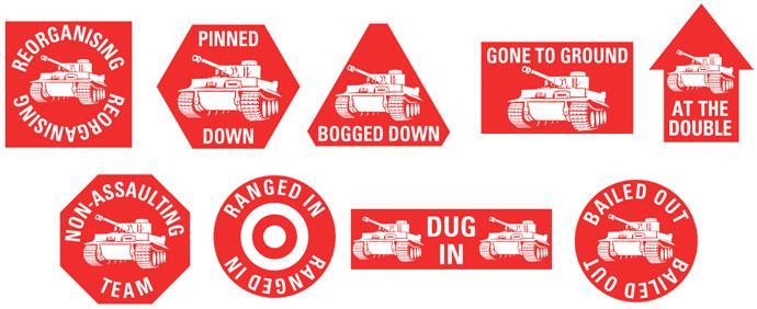 Red Token Set
