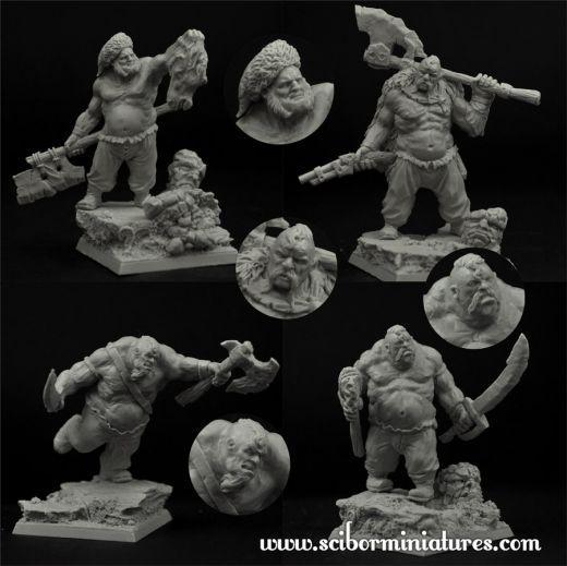 28mm Ogre Cossack set (4)