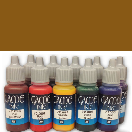 Game Color 092 - Brown Ink