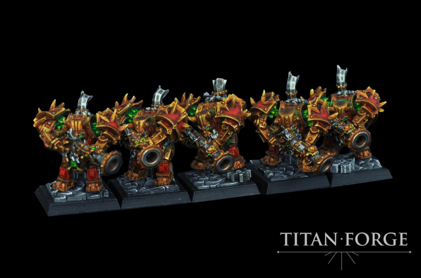 Sons of Kashan Vra Dread Gunners (10 man unit)
