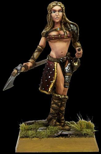Æthelglyth, Warrior-Maiden of Mierce