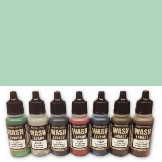 Wash 205 - Green Shade