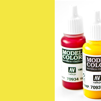 Model Color 730 - Fluorescent Yellow