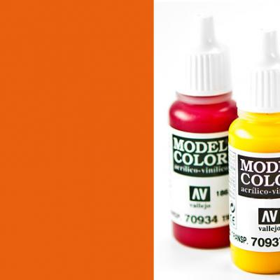 Model Color 733 - Fluorescent Orange