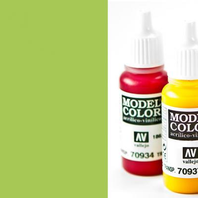 Model Color 737 - Fluorescent Green