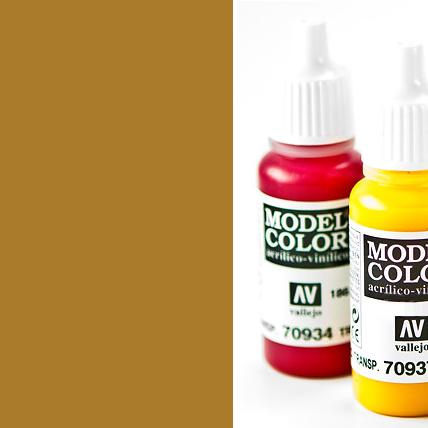 Model Color 801 - Metallic Brass