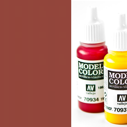 Model Color 818 - Red Leather