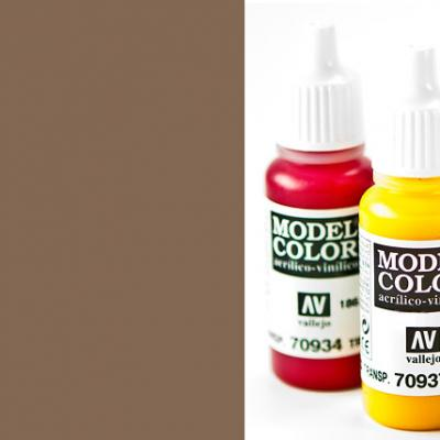 Model Color 825 - German Cam. Pale Brown