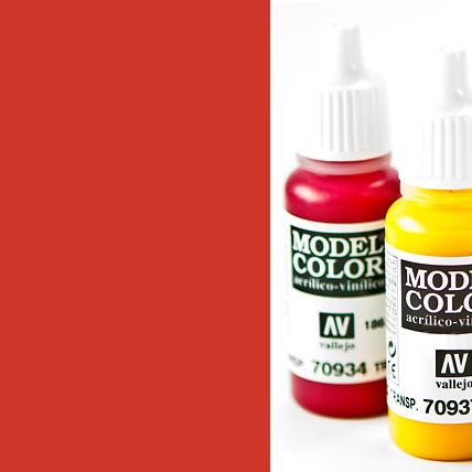 Model Color 829 - Amarantha Red