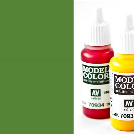 Model Color 833 - German Cam. Bright Green