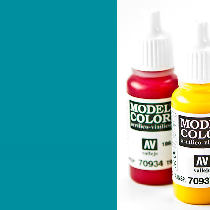 Model Color 840 - Light Turquoise