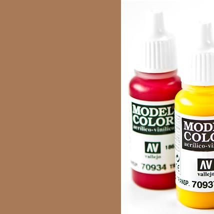 Model Color 843 - Cork Brown