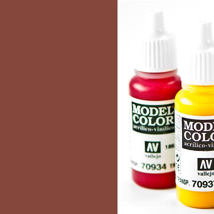 Model Color 846 - Mahogany Brown