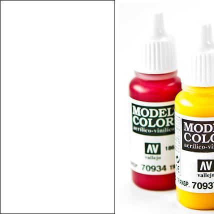 Model Color 853 - White Glaze