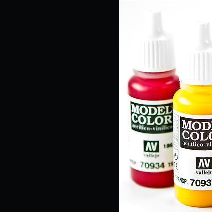 Model Color 855 - Black Glaze