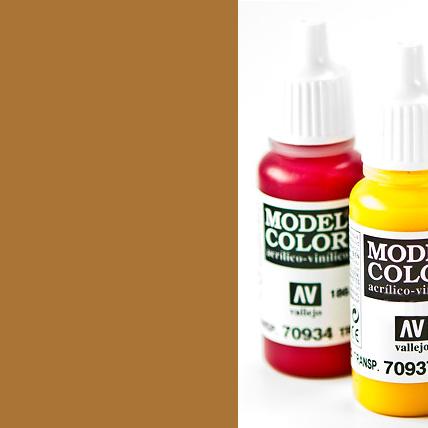 Model Color 856 - Ochre Brown
