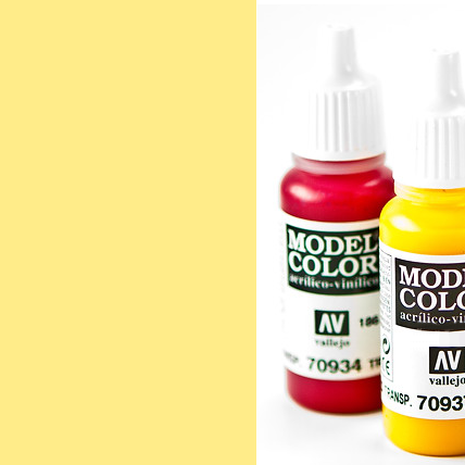 Model Color 858 - Ice Yellow