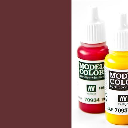 Model Color 859 - Black Red (Cadmium Brown)