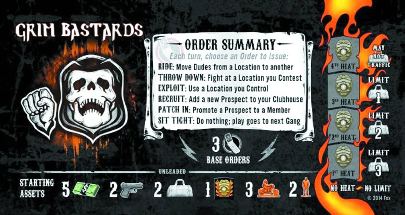 Sons of Anarchy - Grim Bastards - Expansion