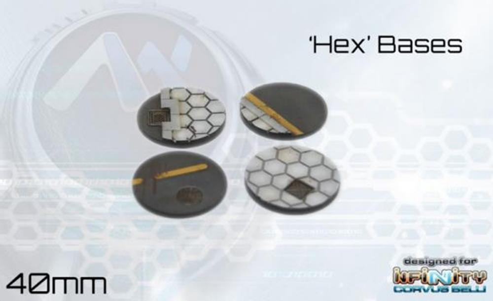 Hex Base Set 40mm
