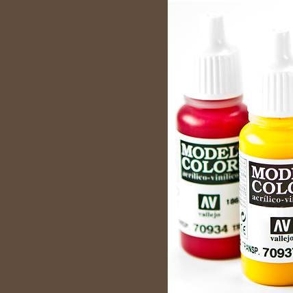 Model Color 872 - Chocolate Brown