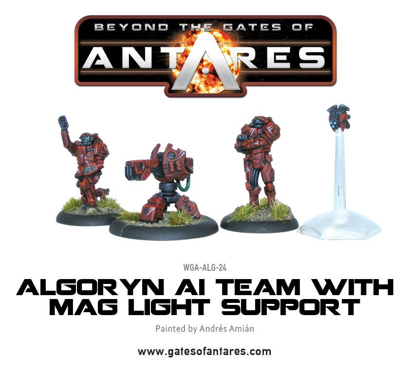 Algoryn AI Team with Mag Light Support