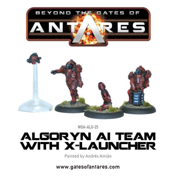 Algoryn AI Team with X-Launcher