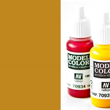 Model Color 877 - Goldbrown