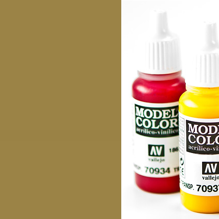Model Color 878 - Metallic Old Gold