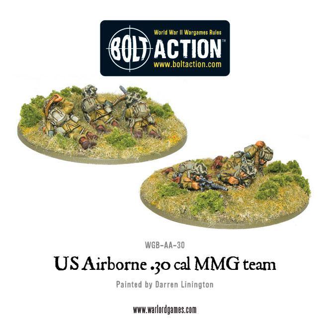 US Airborne 30cal teams (random team- 2 variants)