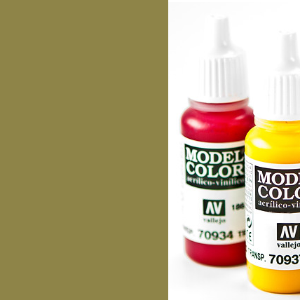 Model Color 881 - Yellow Green