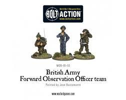 British Army Forward Observer Team