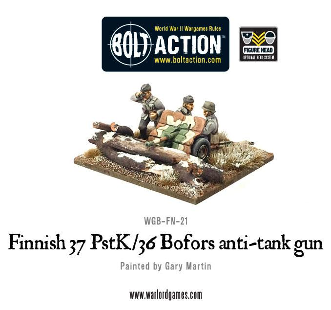 Finnish 37 PstK/36 Bofors anti-tank gun